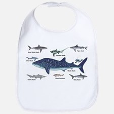 Shark Types Bib
