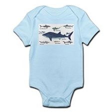 Shark Types Body Suit