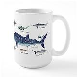 Shark Large Mugs (15 oz)