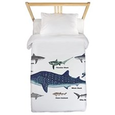 Shark Types Twin Duvet