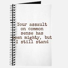 Common Sense Assault Journal