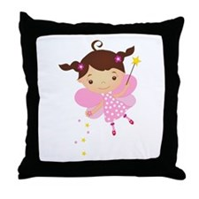 Little Fairy 4 Throw Pillow