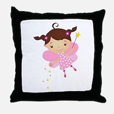Little Fairy 4 Throw Pillow