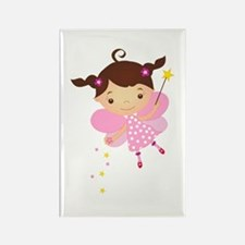 Little Fairy 4 Rectangle Magnet
