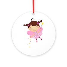 Little Fairy 4 Ornament (Round)