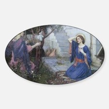 Annunciation by JW Waterhouse Decal