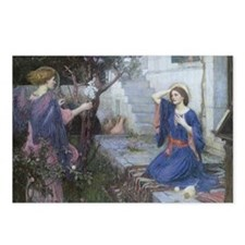 Annunciation by JW Waterh Postcards (Package of 8)