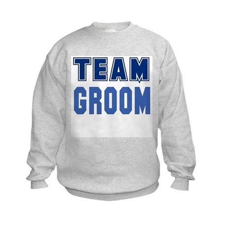Team Groom Kids Sweatshirt