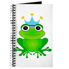Blue Crown Frog Prince Journal