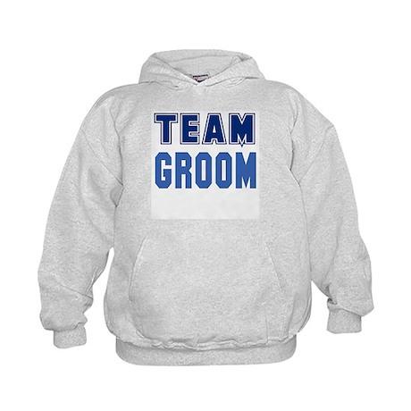 Team Groom Kids Hoodie