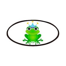 Blue Crown Frog Prince Patches