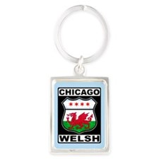 Chicago Welsh American Sign Keychains