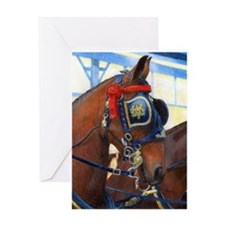 Cleveland Bay Horse Greeting Card