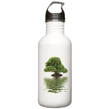 ficus water reflection Water Bottle