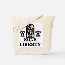 Cute Revolutionary war uniforms Tote Bag