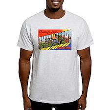 Shreveport Louisiana Greetings Ash Grey T-Shirt