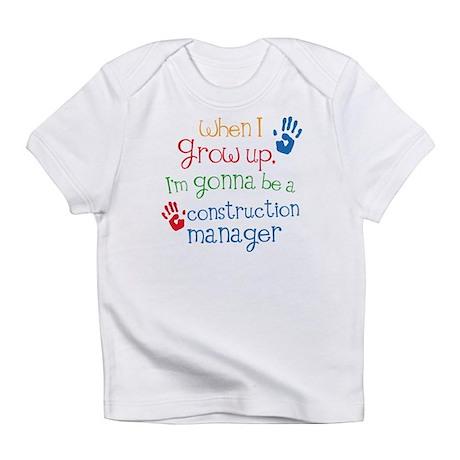 Future Construction Manager Infant T-Shirt