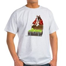 English_Bull_Terrier_Pirate_10x10_apparel T-Shirt