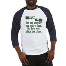 Funny Win or Lose Baseball Jersey