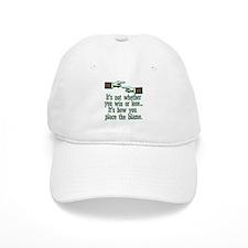 Funny Win or Lose Baseball Cap