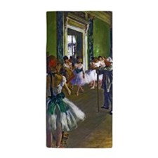 Degas - The Ballet Class Beach Towel
