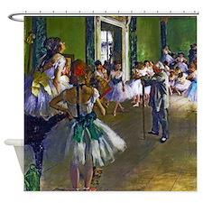 Degas - The Ballet Class Shower Curtain