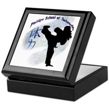 Phillips School of Taekwondo Keepsake Box