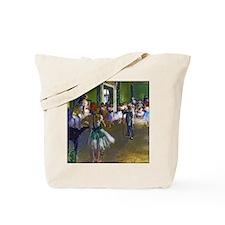 Degas - The Ballet Class Tote Bag