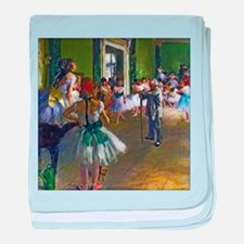 Degas - The Ballet Class baby blanket
