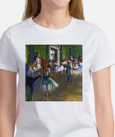 Degas - The Ballet Class Women's T-Shirt