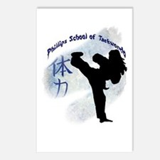 Phillips School of Taekwondo Postcards (Package of