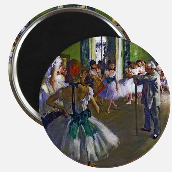 Degas - The Ballet Class Magnet