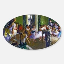 Degas - The Ballet Class Decal