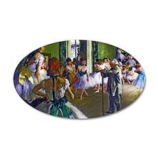 Degas - The Ballet Class Wall Decal