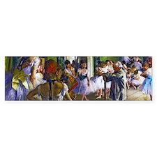 Degas - The Ballet Class Bumper Sticker