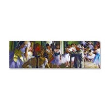 Degas - The Ballet Class Car Magnet 10 x 3
