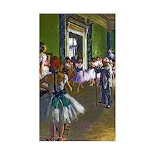 Degas - The Ballet Class Decal