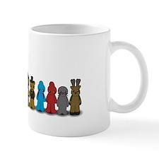 Blue Rabbit mug
