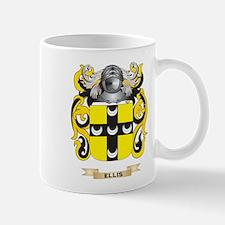 Ellis Coat of Arms Mug