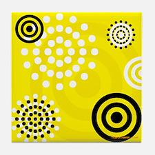 Yellow Stinger Tile Coaster