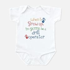 Future Drill Operator Infant Bodysuit