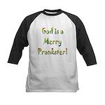 God is a Merry Prankster Kids Baseball Jersey
