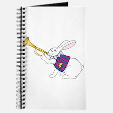 White Rabbit and Trumpet Journal