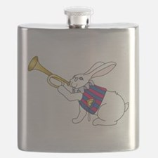 White Rabbit and Trumpet Flask