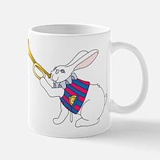 White Rabbit and Trumpet Mug