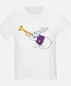 White Rabbit and Trumpet T-Shirt