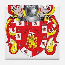 Emanuel Coat of Arms Tile Coaster