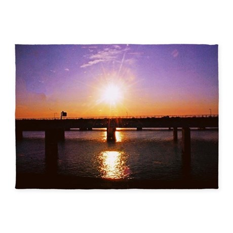 Virginia Sunset 5'x7'Area Rug