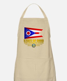 Ohio Flag Apron