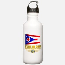 Ohio Flag Water Bottle